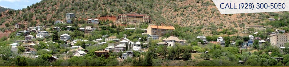View of Jerome Arizona real estate