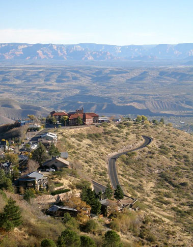 The view from Jerome Arizona real estate